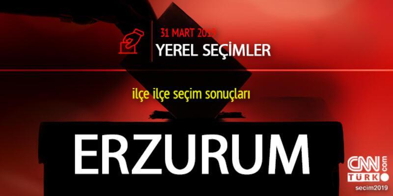 Erzurum seçim sonuçları 2019: Erzurum yerel seçim oy oranları