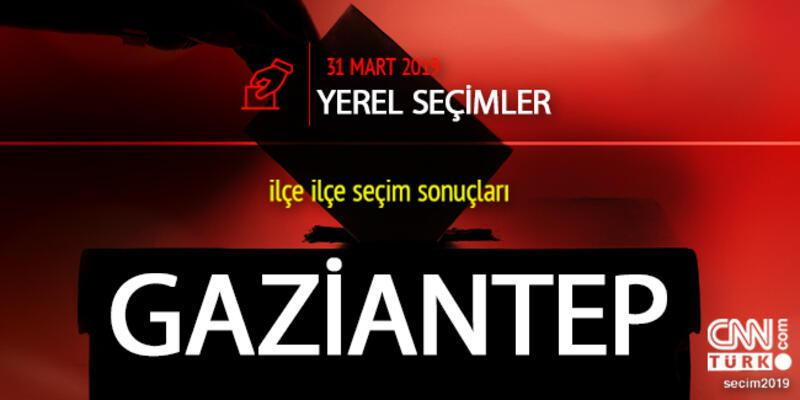 Gaziantep seçim sonuçları cnnturk.com Gaziantep oy oranları sayfasında!