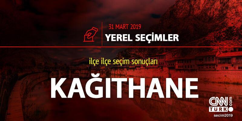 Kağıthane ilçe seçim sonuçları: İstanbul Kağıthane yerel seçim oy oranları