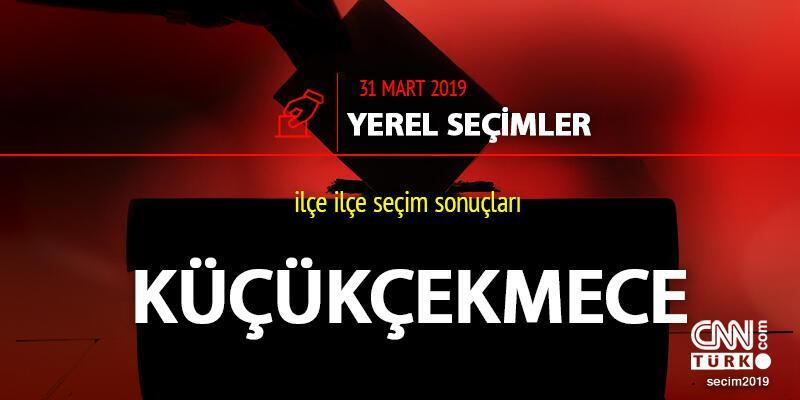 Küçükçekmece seçim sonuçları: İstanbul Küçükçekmece yerel seçim oy oranları