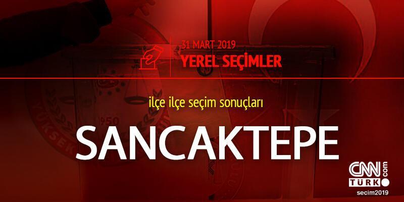 Sancaktepe seçim sonuçları - 31 Mart Sancaktepe yerel seçim oy oranları