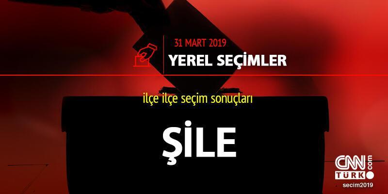 Şile ilçe seçim sonuçları: İstanbul Şile yerel seçim oy oranları