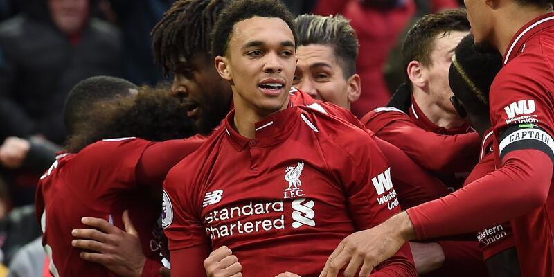 Liverpool'un 90. dakika zaferi