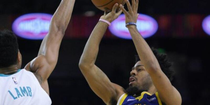 Warriors'tan Hornets'a 47 sayı fark