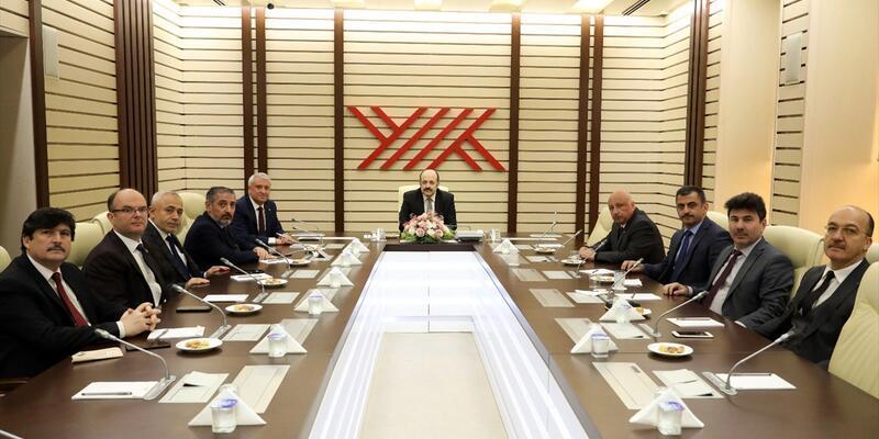 YÖK Başkanı Prof. Saraç 8 üniversite rektörüyle buluştu