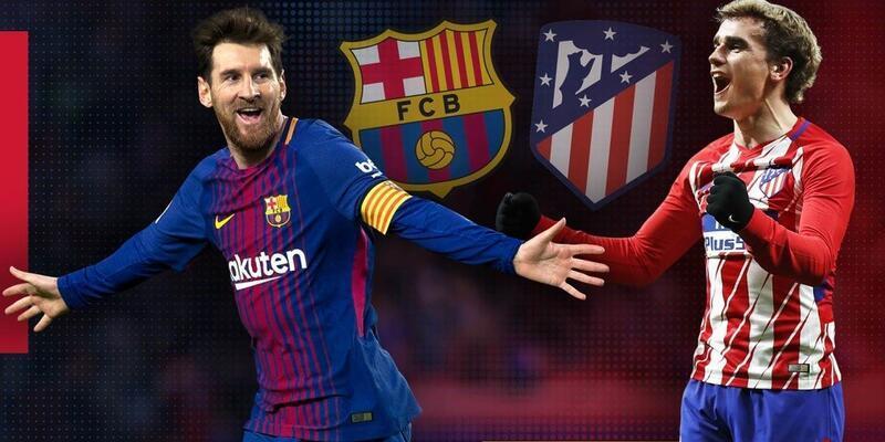 Barcelona - Atletico Madrid CANLI