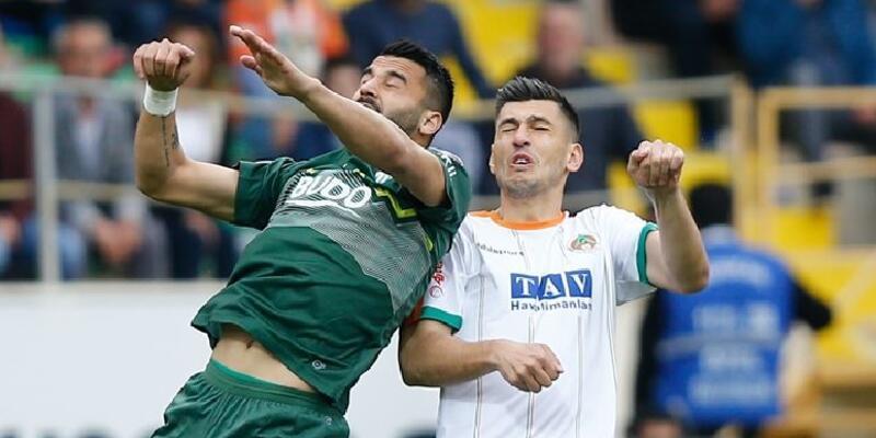 Alanyaspor 1-0 Bursaspor / Maç Özeti