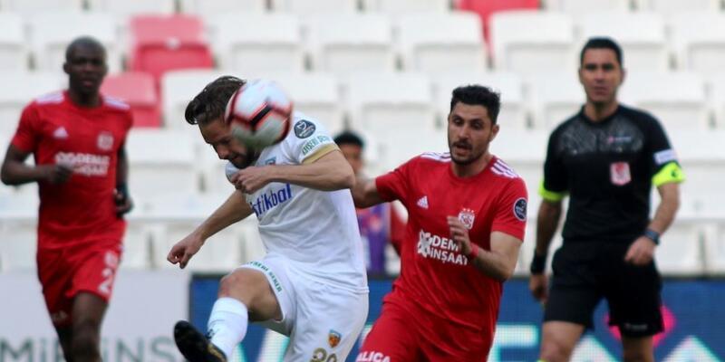 Sivasspor 1-3 Kayserispor / Maç Özeti
