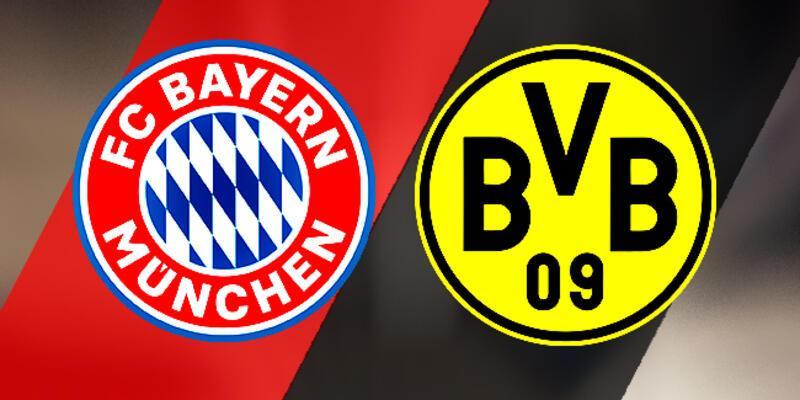 Bayern Münih, Dortmund maçı hangi kanalda, saat kaçta?