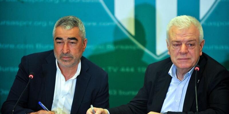 Bursaspor'da Samet Aybaba dönemi sona erdi
