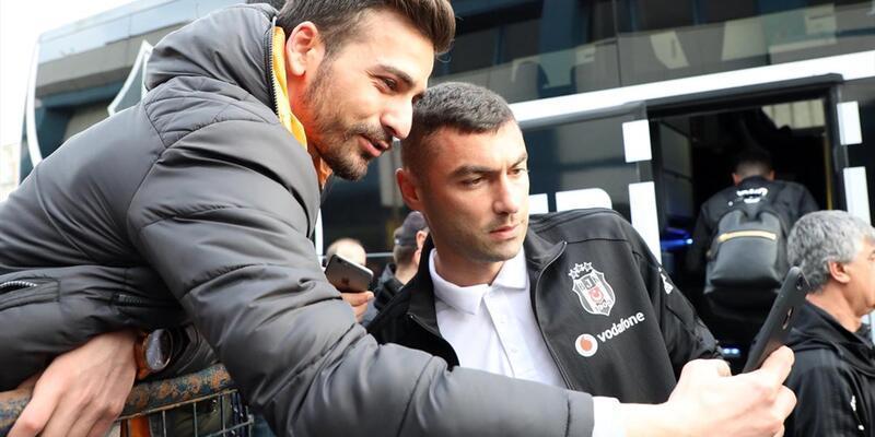 Beşiktaş iki eksikle Rize'ye geldi