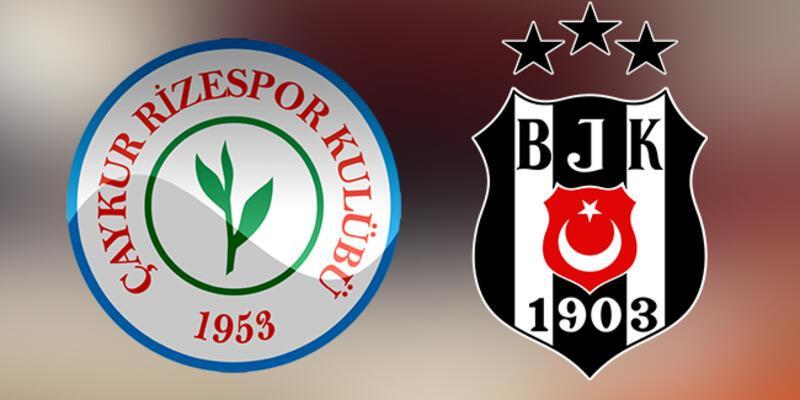 Süper Lig 27. hafta: Çaykur Rizespor - Beşiktaş maçı ne zaman, saat kaçta?