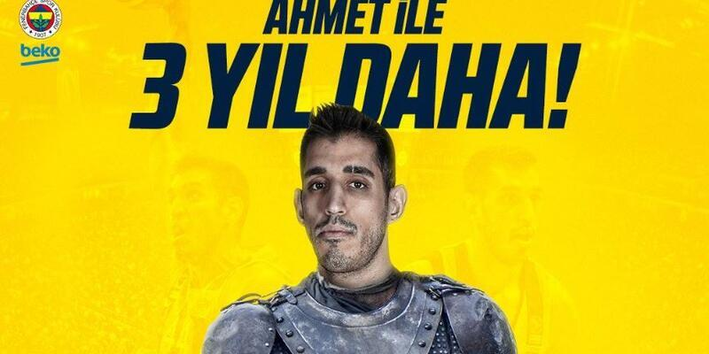 Ahmet Düverioğlu 3 yıl daha Fenerbahçe'de