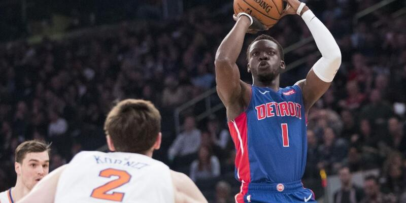 NBA play-off'larında son bilet Detroit Pistons'ın