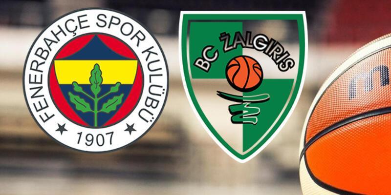 Fenerbahçe, Zalgiris play off basketbol maçı ne zaman, saat kaçta, hangi kanalda?