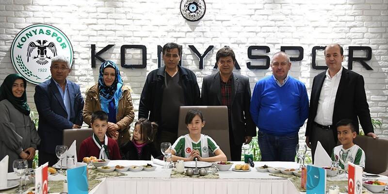 Konyaspor da 23 Nisan geleneğine uydu