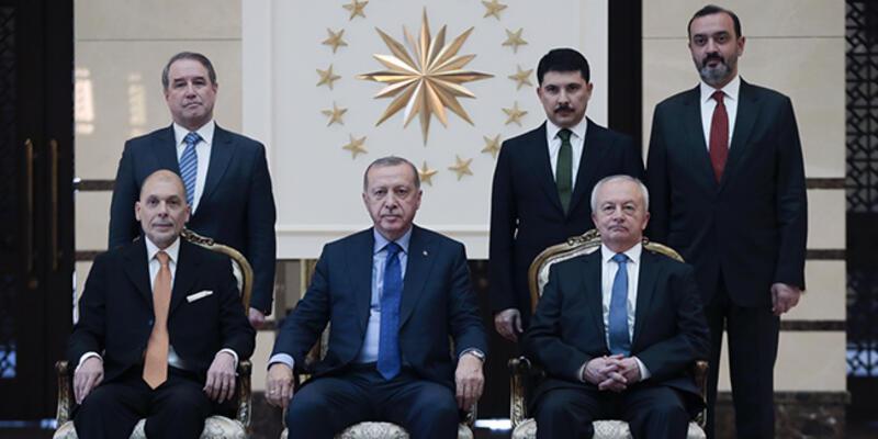 Cumhurbaşkanı Erdoğan, Arjantin Ankara Büyükelçisi Mastropietro'yu kabul etti