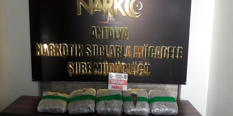 Antalya'daki uyuşturucu operasyonunda 11 tutuklama