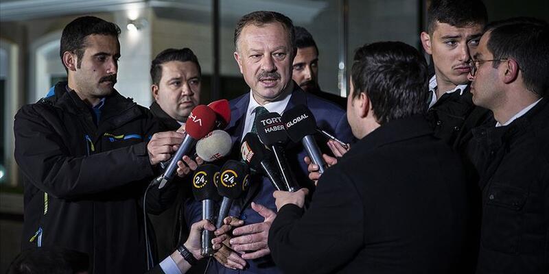 AK Parti YSK Temsilcisi Recep Özel listeyi açıkladı