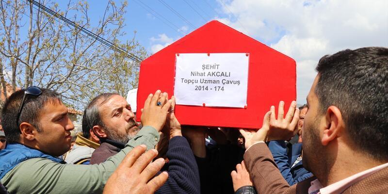 Şehit Nihat Akcalı son yolculuğuna uğurlandı
