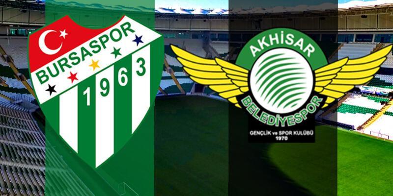 Bursaspor, Akhisarspor maçı hangi kanalda, saat kaçta?