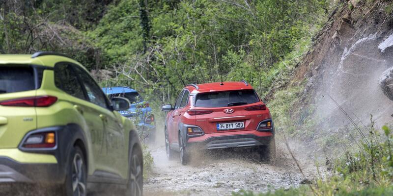 Hyundai Konatolia'da 3 bin km yaptı