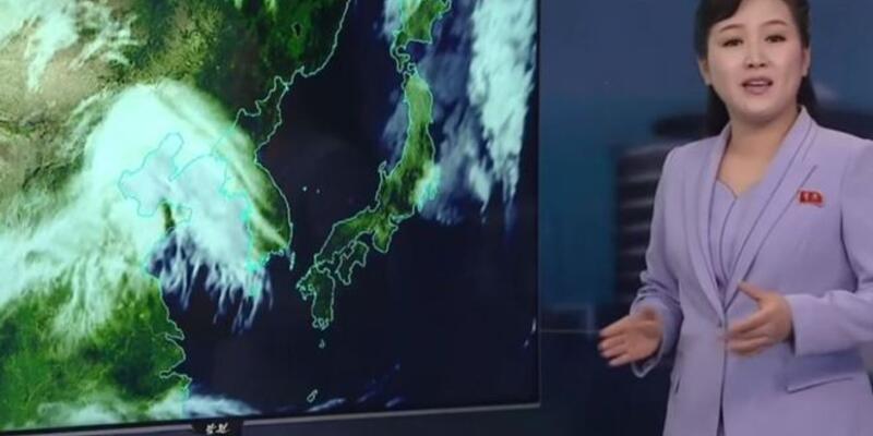 Kuzey Kore televizyonunda 'hava durumu' devrimi