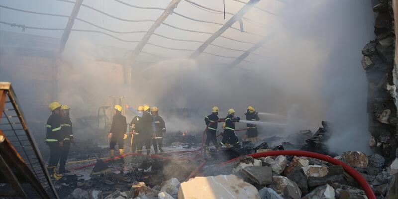 Irak'ta seçim komisyonu ofisinde yangın