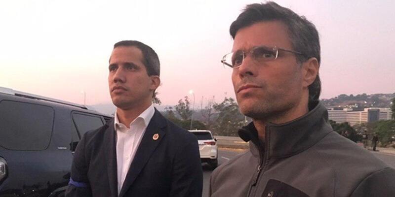 Venezuelalı muhalif lider Lopez Şili Büyükelçiliği'ne sığındı
