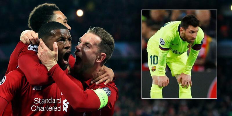 Liverpool 4-0 Barcelona / Maç Özeti