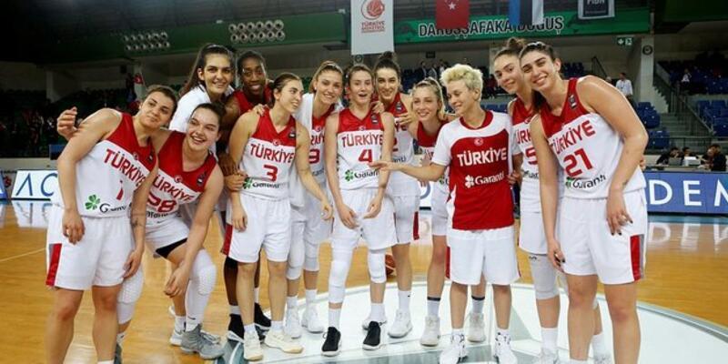 A Milli Kadın Basketbol Takımı aday kadrosu açıklandı