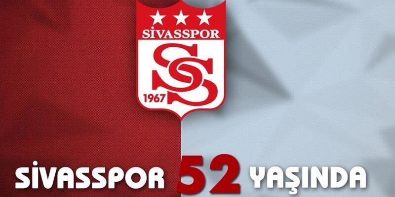 Sivasspor Kulübü 52 yaşında