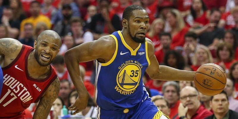 Kevin Durant Rockets'a karşı yok