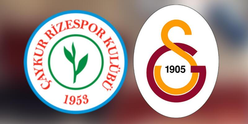 Rizespor Galatasaray maçı ne zaman, saat kaçta, hangi kanalda?