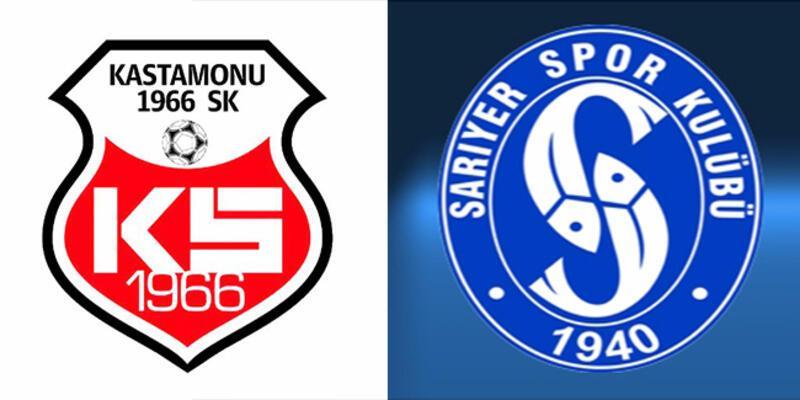 Kastamonuspor 1966, Sarıyer 2. Lig play off maçı saat kaçta, hangi kanalda?