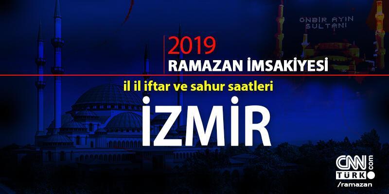 İzmir iftar saati 2019 Ramazan imsakiyesi: İzmir ezan saatleri