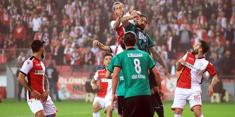Sakaryaspor Samsunspor'u eledi