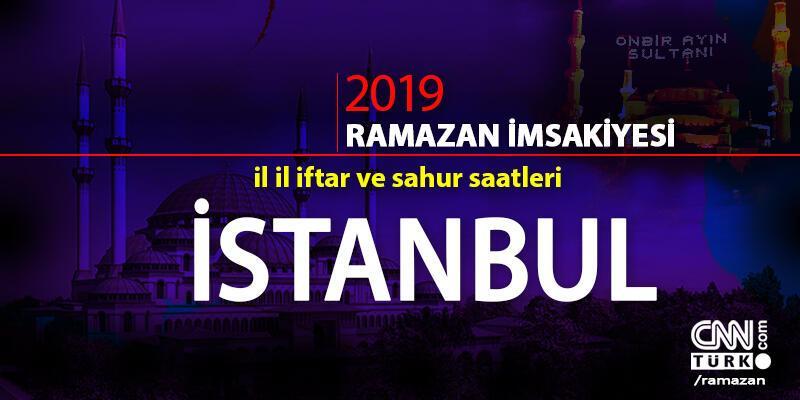 İstanbul iftar saatleri… İstanbul için iftar vakitleri 2019 (15-16 Mayıs)