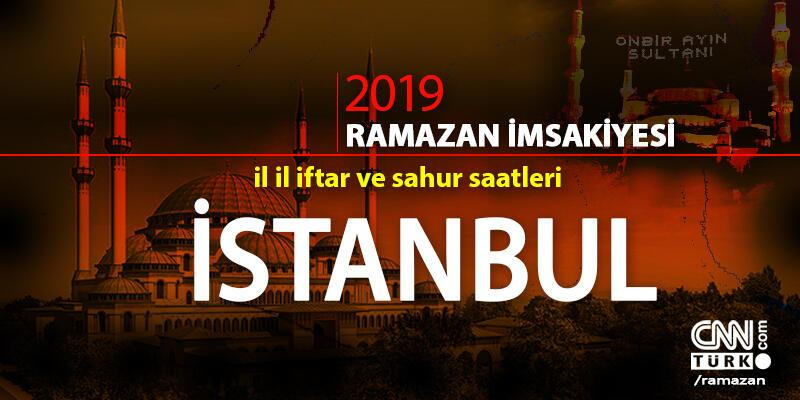İstanbul iftar saatleri… 16 Mayıs 2019 İstanbul için iftar vakti saat kaçta?