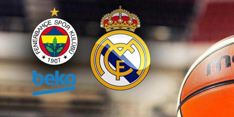 Final Four Fenerbahçe Real Madrid basket maçı ne zaman, saat kaçta, hangi kanalda?