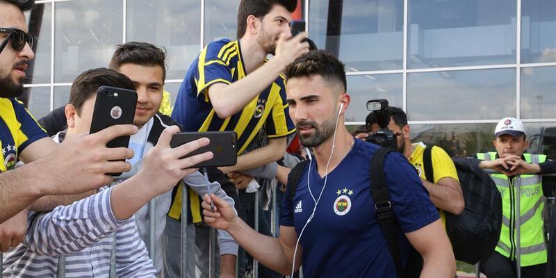 Fenerbahçe kafilesi Erzurum'a geldi