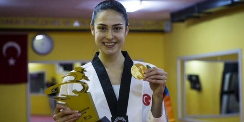 İrem Yaman altın madalya kazandı