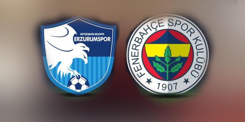 Süper Lig... Erzurumspor Fenerbahçe maçı bugün saat kaçta oynanacak?