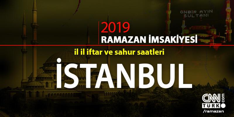 İstanbul iftar saati 2019… Bugün İstanbul için iftar vakti saat kaçta?