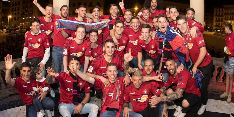 Osasuna La Liga'ya döndü
