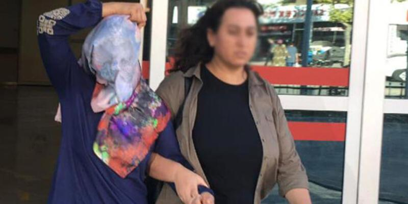 Komşusu ve 3 çocuğuna kezzap atan kadın tahliye edildi