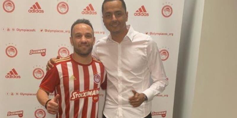 Mathieu Valbuena Olympiakos'ta