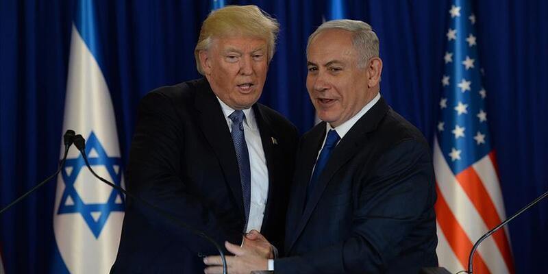 """Trump'tan """"İsrail koalisyon hükümeti"""" açıklaması"""