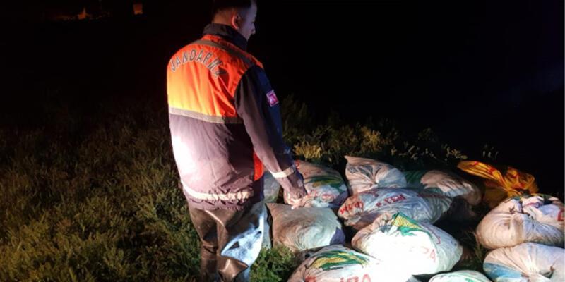 Van'da kaçak avlanan 10 ton inci kefali ele geçirildi