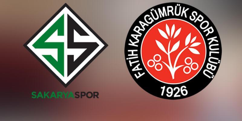 Sakaryaspor Fatih Karagümrük play off maçı saat kaçta, hangi kanalda?